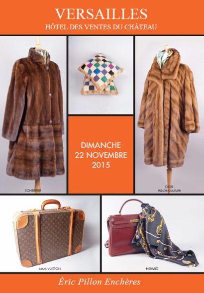 Vintage - bijoux fantaisie - accessoires de mode - fourrures - maroquinerie - bagagerie - carrés et cravates Hermès - vêtements griffés