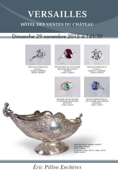 Bijoux - argenterie - orfèvrerie - objets de galanterie