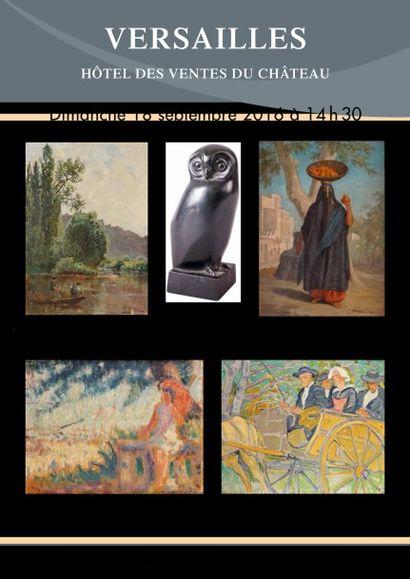 Tableaux XIXème et modernes - Sculptures - Collection de 17 lithographies de Bernard BUFFET
