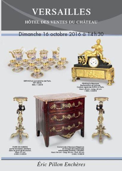 Tableaux anciens - Dessins - Gravures - Arts de la table - Objets d'art - Mobilier XVIIIème