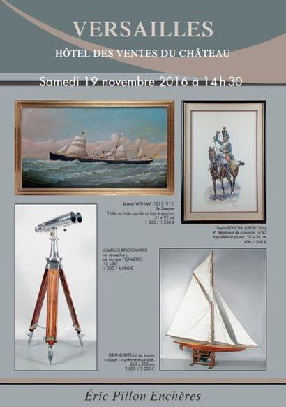 armes et souvenirs historiques, sur le thème de la marine, photographies, dessins