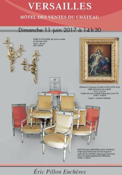 Tableaux anciens - Gravures - Dessins Objets d'art - Pendules - Bronzes - Arts de la table Mobilier des XVIIIe et XIXe siècles