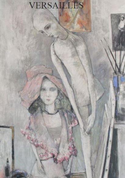 Tableaux XIXe, impressionnistes, post-impressionnistes, modernes et contemporains - Sculptures - Tapisseries
