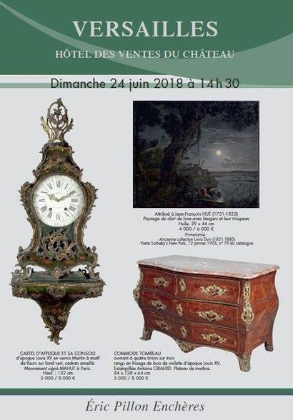 MOBILIER - OBJETS D'ART - ARTS D'ASIE - Tableaux anciens - Dessins - Gravures - Arts de la table Bronzes - Mobilier du XVIIIe et XIXe