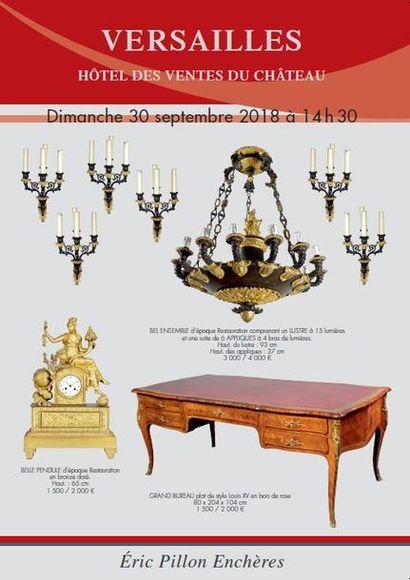 MOBILIER - OBJETS D'ART - ARTS D'ASIE Tableaux anciens - Dessins - Gravures - Arts de la table - Bronzes - Mobilier XVIIIe et XIXe