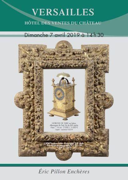 Cadres ancien et moderne - Arts religieux - Haute époque - Tableaux - Dessins - Gravures Objets de vitrines - Objets d'art - Mobilier du XVIIe et XIXe siècle