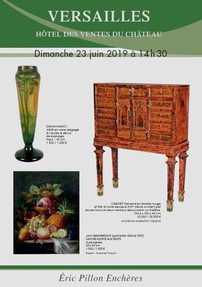 Tableaux anciens et du XIXe siècle - Arts de la table - Objets d'art - Mobilier du XVIIIe et XIX siècle