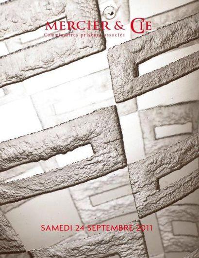 ART NOUVEAU - ART DÉCO DESIGN IMPORTANTE COLLECTION DE VERRERIES DE M. ET MME X ET À DIVERS