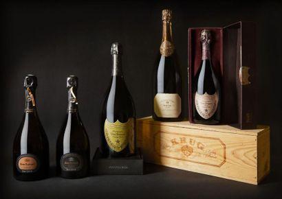 Belle vente de vins et exceptionnelle sélection de champagnes