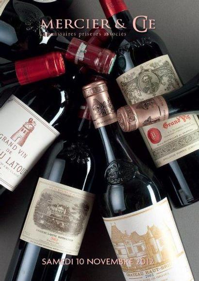Grands vins de Bordeaux, Bourgogne, Vallée du Rhône  Champagne - Porto et Alcools