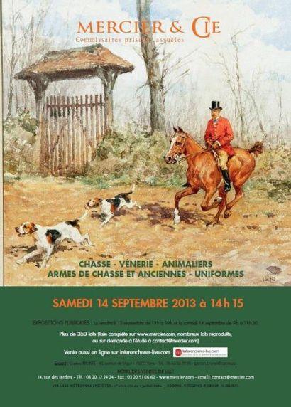 Chasse - venerie - animaliers - armes de chasse et anciennes - uniformes