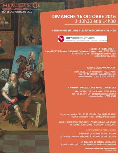 Vente à 10h30 et 14h30 : Grande vente cataloguée d'art classique