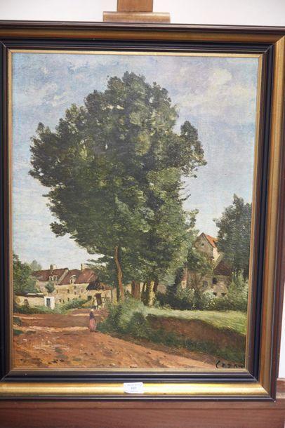 Vente courante de tableaux