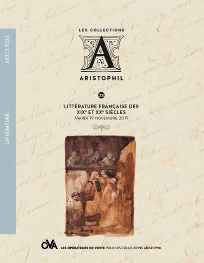 23 • LITTÉRATURE FRANÇAISE DES XIXe ET XXe SIÈCLES • PAR ARTCURIAL