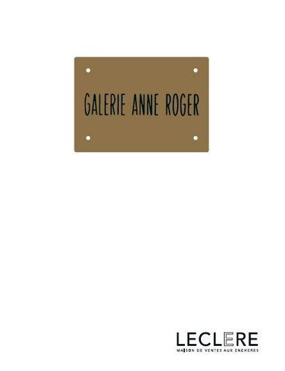 ART CONTEMPORAIN - Collection Anne Roger