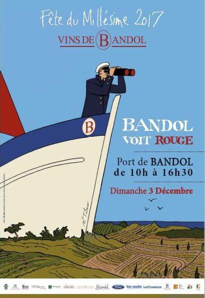 Bandol Voit Rouge<br>VENTE CARITATIVE au profit de l'association