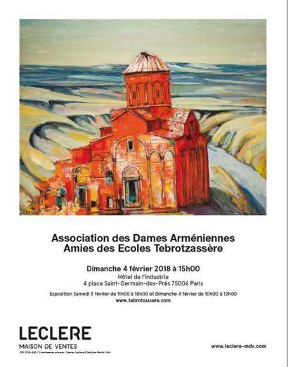 Association des Dames Arméniennes - Amies des Ecoles Tebrotzassère - VENTE CARITATIVE