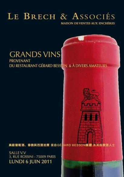 Grands vins et alcools - Vente live