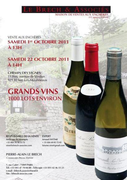Grands vins et spiritueux - vente live