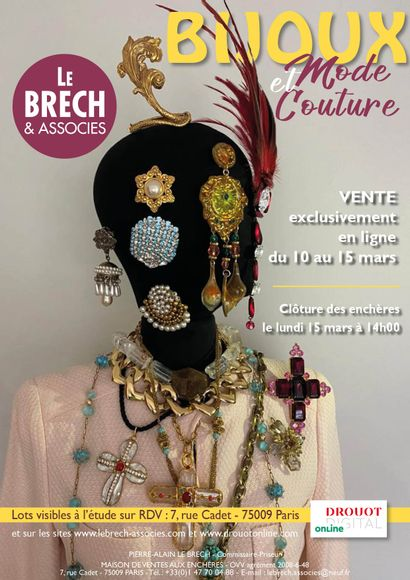 COUTURE AND FASHION JEWELLERY