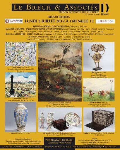 Meubles et objets d'art - GRANDS VINS