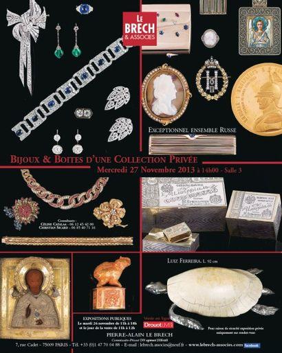 Bijoux & Boîtes d'une collection privée