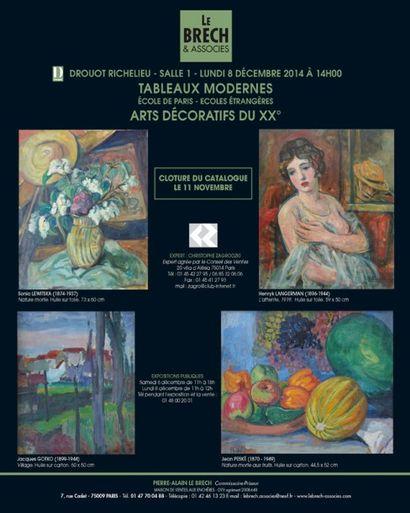 Tableaux Modernes et Ecole de Paris - Arts Décoratifs du XXème siècle