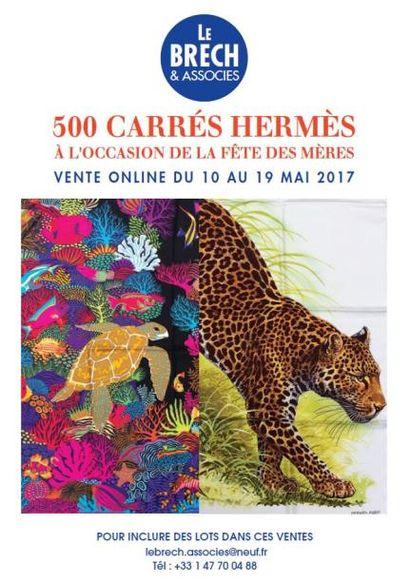 CARRES HERMES ET FOULARDS A L'OCCASION DE LA FETE DES MERES