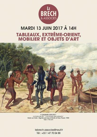 TABLEAUX, EXTRÊME-ORIENT, MOBILIER ET OBJETS D'ART