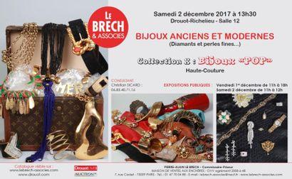 BIJOUX ANCIENS ET MODERNES - COLLECTION X : BIJOUX POP DE LA HAUTE COUTURE