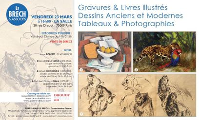 DESSINS ANCIENS ET MODERNES - PHOTOGRAPHIES