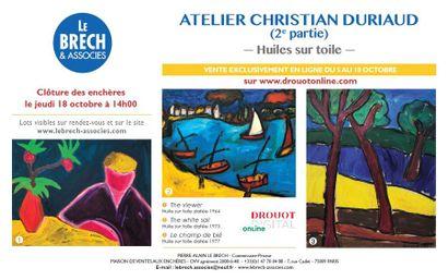 Atelier Christian Duriaud - Deuxième Partie