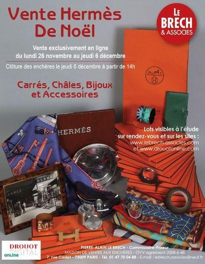 Vente Hermès de Noël : Carrés, Châles, Bijoux et Accessoires