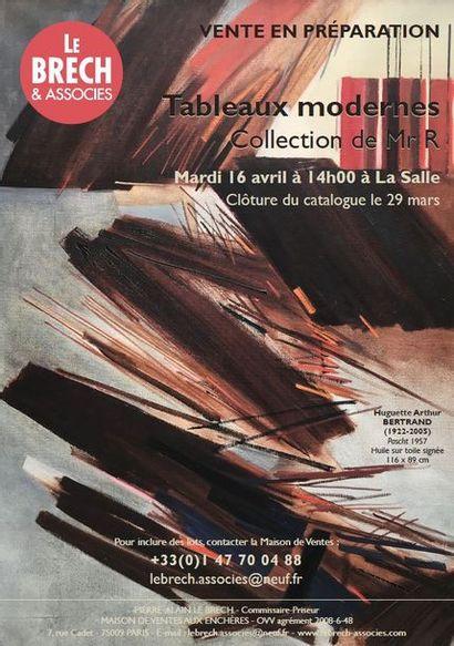 ARTS DU XXème siècle - TABLEAUX MODERNES Collection de Mr R & LIVRES ILLUSTRES