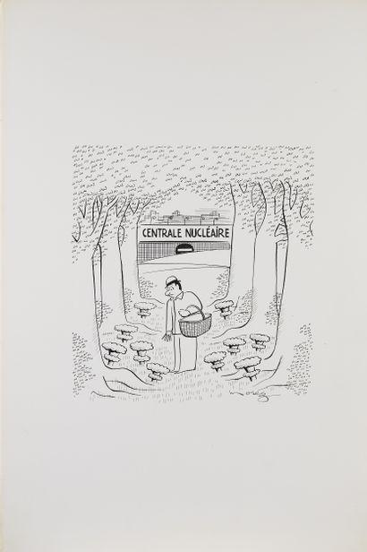 Atelier de dessins de presse humoristiques Henri Morez en live à huis-clos
