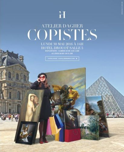 Atelier DAGHER - Copiste au Musée du Louvre et au Musée d'Orsay