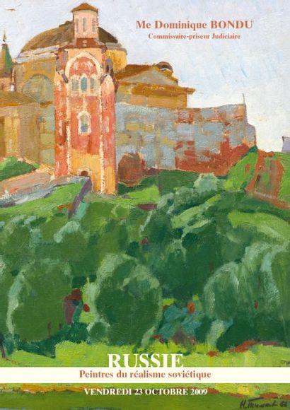 TABLEAUX RUSSES Peintres du réalisme soviétique