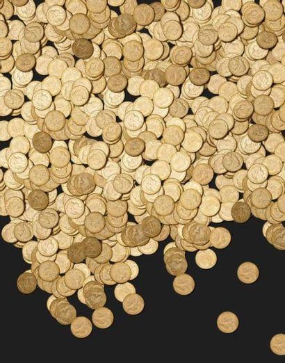 Pièces d'or, numismatique