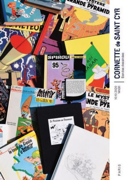 BANDES DESSINEES DE LUXE ET TIRAGES DE TETES, COLLECTION D'UN AMATEUR