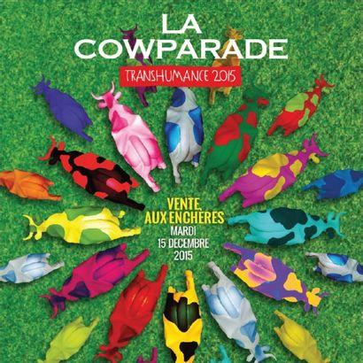 La COWPARADE La première cow parade transhumance au monde