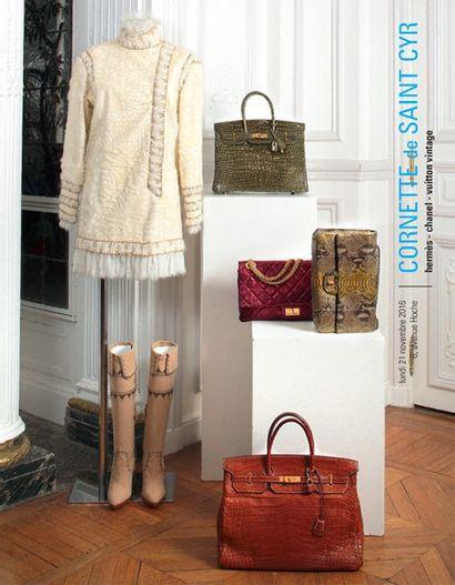 Vente à 11h et 14h15 : Hermès - Chanel - Vuitton vintage