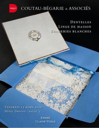 DENTELLE - LINGE de MAISON - BRODERIE BLANCHE