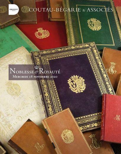 [VENTE MAINTENUE ]  Noblesse et Royauté - Vente en live à huis clos