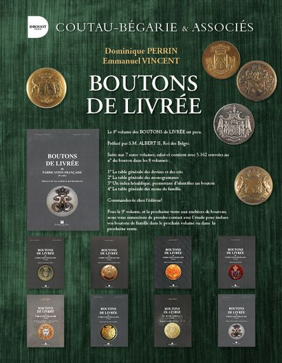 BOUTONS DE LIVRÉE