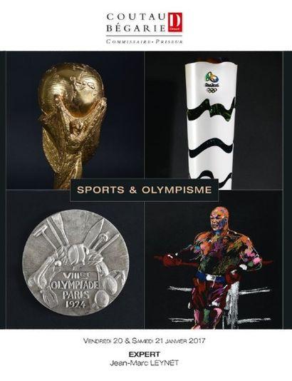 Sports & Olympisme - Deuxième partie : Du lot 356 au lot 443 & Troisième partie : Du lot 444 au lot 820