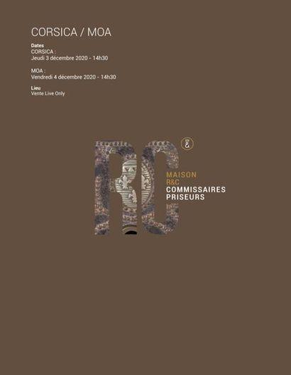 CORSICA - ARMES - SOUVENIRS HISTORIQUES