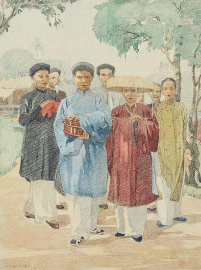 VIETNAM, Ecole de GIA DINH, de 1926 à 1940