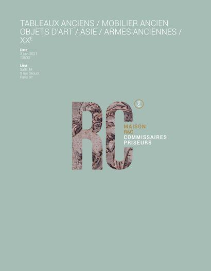 TABLEAUX ANCIENS / MOBILIER ANCIEN OBJETS D'ART / ASIE / ARMES anciennes / XXe