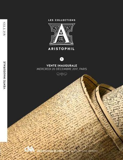 Aristophil • 1 • Vente inaugurale