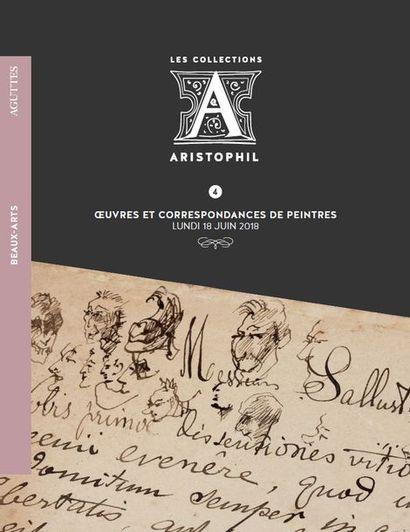 4 • BEAUX-ARTS • ŒUVRES & CORRESPONDANCES DE PEINTRES<br/>par Aguttes